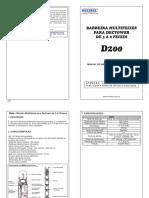 Datasheet D200