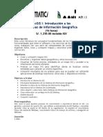 ArcGIS I Desktop 10.3 Syllabus