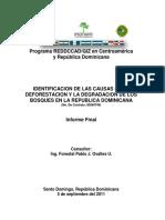Informe Final Causas Deforestacion Rep. Dominicana 05.09.11