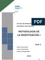 Guia 1 y 2 METODOLOGIA DE LA INVESTIGACION
