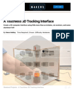 A Touchless 3D Tracking Interface _ Make