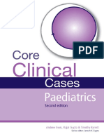 Core Clinical Cases in Paediatrics - Gupta, Ewer