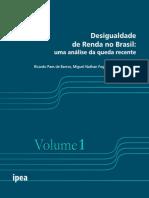 Desigualdade de Renda No Brasil - V. 1