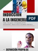 Induccion a La Ingeneria