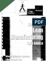 Manual de Lean Manufacturing Guía Básica - Alberto Villaseñor - 1ra Edición