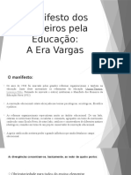 Apresentação - Era Vargas