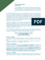 Ley de La Policía Nacional Del Peru 1148 y Modificatoria