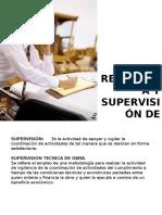 Residencia y Supervision de Obra