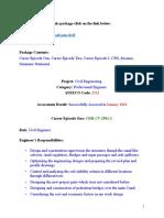 Civil CDR Sample 2901 - CDRDownload.com