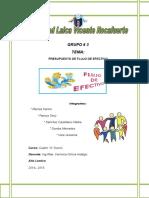 PRESUPUESTO FLUJO DE EFECTIVO. PRESUPUESTO FINANCIERO..doc