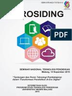 Prosiding Seminar Nasional TEP 2015