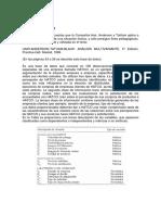Descripcion Base de Datos HATCO