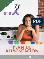 21 Day Fix Plan de Alimentacion Español