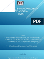 Instituto Superiortécnico de Angola Slide