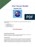 Vet State Benefits & Discounts - HI 2016