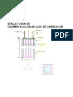 Detalle Dado Anclaje Model