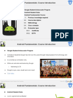 BCN-ASC- Android Fundamentals Course (Introduction)