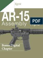 AR-15 Assembly Tips