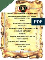 Monografia normas morales