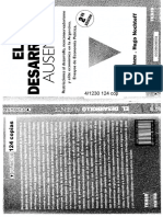 Azpiazu Daniel Et Alt - El Desarrollo Ausente.PDF