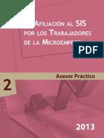 Afiliacion Al SIS Por Los Trabajadores de Microempresas