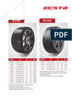 Catalogo Kumho Auto y Camioneta