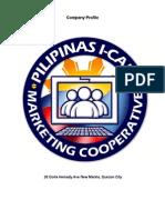 Pilipinas I-Cafe Marketing Cooperative Company Profile