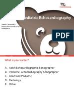 Pedijatrijska ehokardiografija