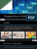 Apresentação sobre projeto de produto