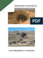 Land Degradation in Australia