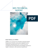 Siwes Technical Report