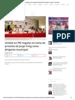 30-09-16 Unidad en PRI nogales en toma de protesta de Jorge Freig como dirigente municipal – Zona Pública