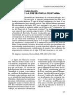 203_Forcades. Dogmas Mariano Futuro Experiencia Cristiana