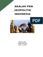 MAKALAH GEOPOLITIK.docx
