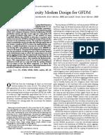 1. Low-Complexity Modem Design for GFDM