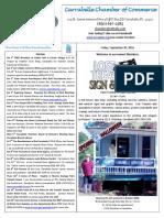 Carrabelle Chamber OF Commerce E-Newsletter for September 30th