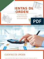 Cuentas de Orden, Contabilidad