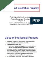 16. Patents Intellectual Property