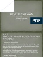 KEWIRUSAHAAN