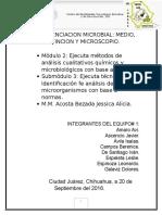 Diferenciación Microbial Investigación
