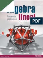 Álgebra Lineal. Fundamentos y Aplicaciones - Bernard Kolman & David R. Hill - 1ed