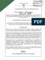 Decreto 2559 Del 30 de Diciembre de 2015