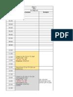 Eurotrip Itinerary Update