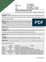 Planificacion de Revision - Matematica - Segundo Año