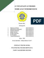 Laporan Praktikum SP Nitrasi Pembuatan Nitrobenzene (FIX)