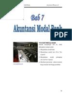 Bab 7 Akuntansi Modal Bank