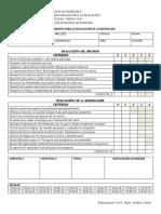 Basica - Instrumento Para La Evaluación de La Microclase