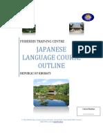 Japanese Language Course Syllabus