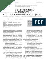 Actuacion de enfermeria ante una alteracion el ectrocardiogrfica segunda parte