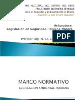 Revision Marco Normativo - Minas Uncp 2011